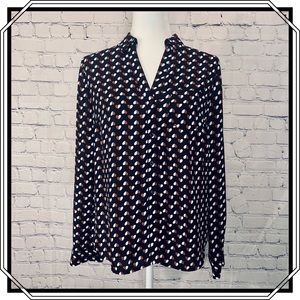 The Limited Long Sleeve Button Down Blouse Size S